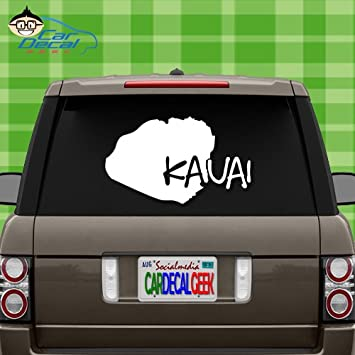 Kauai Car Window Stickers
