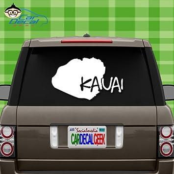 Kauai hawaii island vinyl decal sticker for car truck window laptop macbook wall cooler tumbler