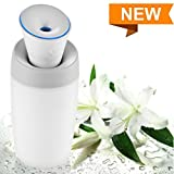250Ml Silent USB Cool Mist Diffuser Air Purifier, Portable Mini Home Humidifier,Perfect for Baby Room, Home, Car, Face, Office and Water Bottle