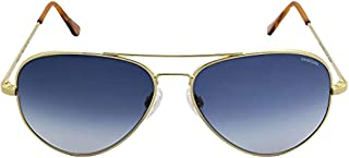 product image for Randolph Concorde Spectrum Sunglasses Gold 23K / Skull/Blue Gradient AR 61mm