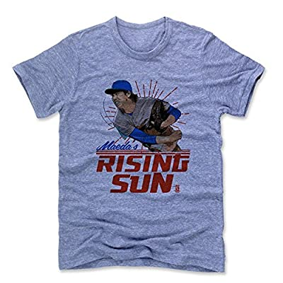 500 LEVEL's Kenta Maeda Sun R Los Angeles D Baseball Men's Premium T-Shirt Officially Licensed by the Major League Baseball Players Association (MLBPA)