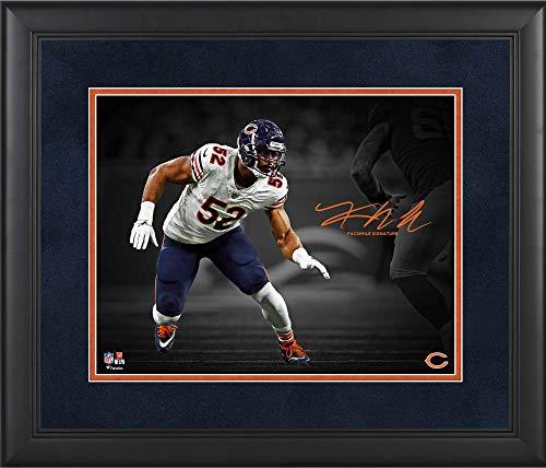 - Khalil Mack Chicago Bears Framed 11