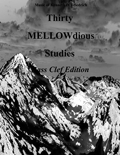 Etudes Bassoon - Thirty MELLOW-dious Studies, Vol. 1-bass clef edition