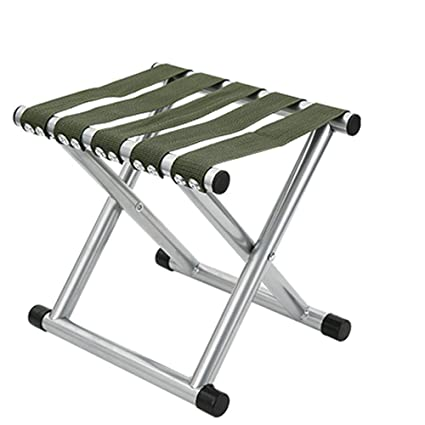 Furniture Outdoor Furniture Outdoor Portable Folding Stool Train Bench Chair Iron Folding Fishing Stool Buy One Give One