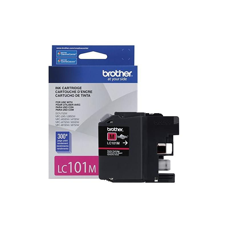 Brother Printer LC101M Magenta Ink Cartr