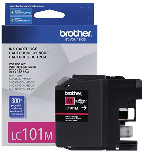 (Brother Printer LC101M Magenta Ink)