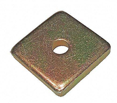 Steel Channel Washer, Galv-Krom Finish
