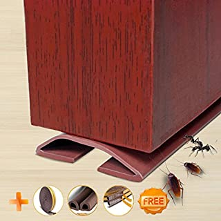 Under Door Draft Blocker Draught Excluder Self-adhesive Rubber Door Bottom Seal Strip Under Door : insulate door threshold - pezcame.com