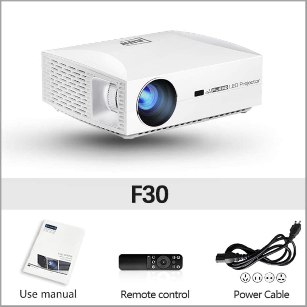 SMEI Proyector Full HD 1920x1080 Resolución Led Proyector para ...