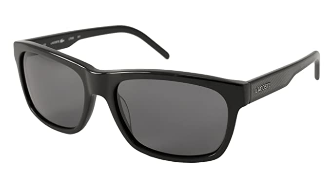 Amazon.com: Lacoste – Gafas de sol, Color l703s (Negro ...