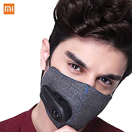 Mask Anti-pollution com 5 Air Pm2 With Kn95 Amazon Xiaomi Purely