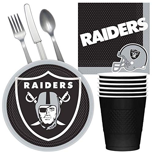 Costume SuperCenter NFL Oakland Raiders Tailgate Party Pack (for 16 Guests) for $<!--$21.29-->