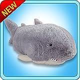Pillow Pets Grey Pillow Pet- PeeWee Shark