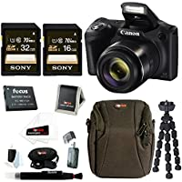 Canon PowerShot SX420 IS 20 MP Digital Camera with 48GB Accessory Bundle Noticeable Review Image