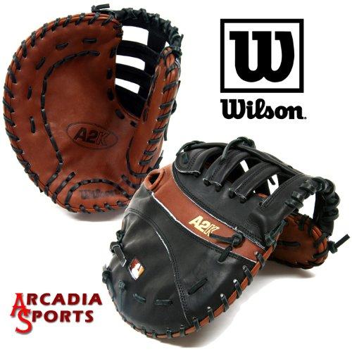 ウィルソンa2 K 2800-w野球最初ベースグローブミット12 LHT   B003ZD3F4C