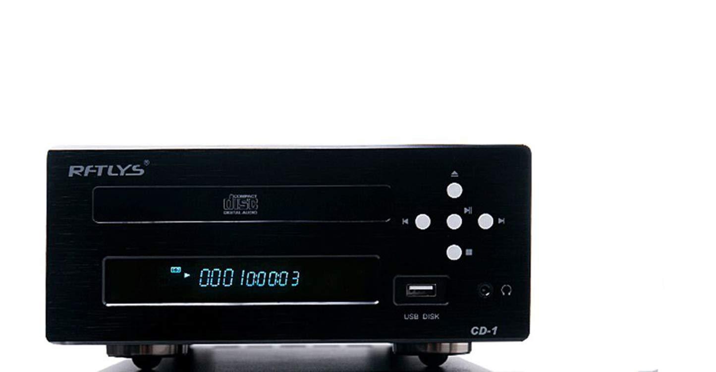 RFTLYS CD-1 Reproductor de CD Hi-Fi con Amplificador de audífonos ...