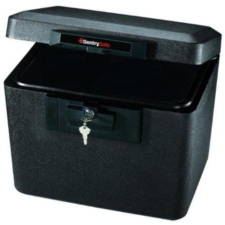 Sentry Safe 1170 Security Fire File - 0.60 Ft - Key Lock Bolt[s] - 13.6