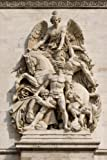 Arc de Triomphe Relief in Paris, France: Blank 150 page lined journal for your thoughts, ideas, and inspiration