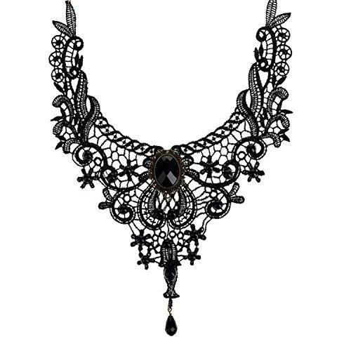 Necklace Handmade Gothic Retro Retro Lace Necklace for sale  Delivered anywhere in USA