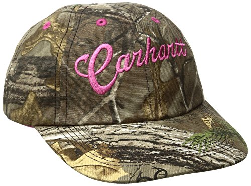 Carhartt Girls' Little Hat, Realtree Xtra, Child