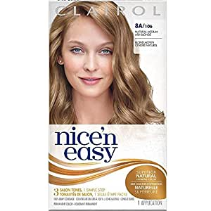 Nice 'n Easy Permanent Color, 8A/106 Natural Medium Ash Blonde 1 ea ( Pack of 3)