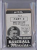 Bob Feller (Baseball Card) 1938 Goudey Big League Baseball Movies - [Base] - Black #8