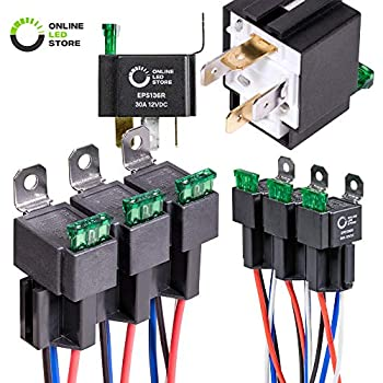 Amazon.com: 5 Pack - EPAuto 30/40 AMP Relay Harness Spdt 12V Bosch on 4 pin micro relay, 4 pin switch circuit diagram, 4 pin relay operation, 4 pin fuel relay, 4 pin relay terminals, 4 pin relay sockets, 4 pin horn relay, 4 pin relay lighting, 4 pin headers, 4 pin relay wire, 4 pin relay testing, 4 pin to 5 pin harness, 4 pin relay harness, 4 pin toggle switch, 4 pin relay with pigtail, 4 pin relay connector, 4 pin power relay,