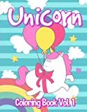 Unicorn : Coloring Book Vol. 1: Unicorn Coloring Book for Kids. (Dover Coloring Books) (Volume 1)
