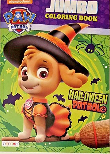Nickelodeon Paw Patrol Halloween Patrol Jumbo Coloring Book 96 Pages ()