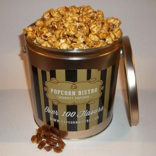Popcorn Bistro Caramel Pecan Gourmet Popcorn 1 Gallon