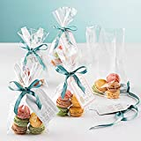 JCHB 100 Ft x 16in 2.3 Mil Crystal Clear Cellophane Wrap Roll, Gift Baskets, Treats, Presents Wrapping