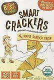 Bitsy's Brainfood Crackers, Maple Carrot Crisp, 5 Ounce, 6 Count