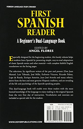 first spanish reader a beginners dual language book beginners guides english and spanish edition