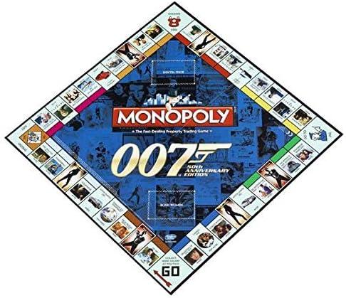 James Bond Monopoly: Edición 50 Aniversario: Amazon.es: Juguetes y juegos