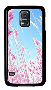 carrying Samsung Galaxy S5 case Beautiful Pink PC Black Custom Samsung Galaxy S5 Case Cover