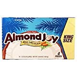 Product Of Almond Joy, King Size Milk Chocolate With Coconut & Almonds, Count 18 (3.22 oz) - Chocolate Candy / Grab Varieties & Flavors