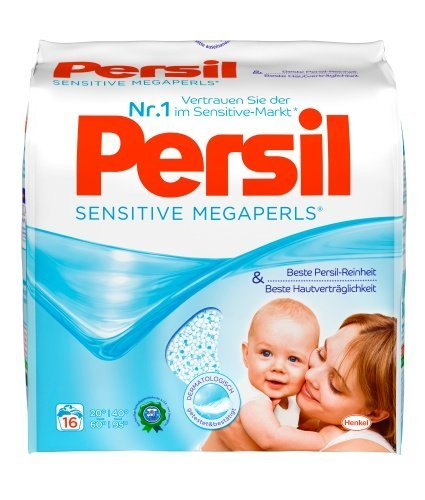 Persil Sensitive Laundry Megapearl Detergent 16 Loads New packaging by Henkel Persil