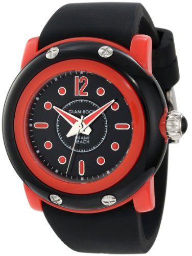 Glam Rock Women's GD1004 Miami Beach Black Dial Watch