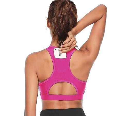 jiushixw Enchufe de Fitness teléfono móvil Sujetador de Yoga ...