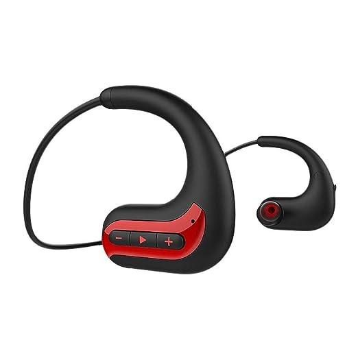 Cacoffay Auriculares inalámbricos con Bluetooth IPX8 8G de ...