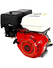 13 hk 9 KW bensinmotor 420 CCM 4-takts stående motor, kartmotor, drivmotor, ersättningsmotor, 3 600 varv/m, med oljelarm