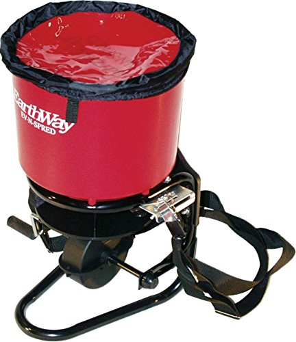 - EARTHWAY PRODUCTS 199435 Earthway 3100 Professional 40lb. Hand Crank Broadcast Spreader, Red