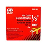 Gb Electrical Mdi-150Y Insulated Cable Staple