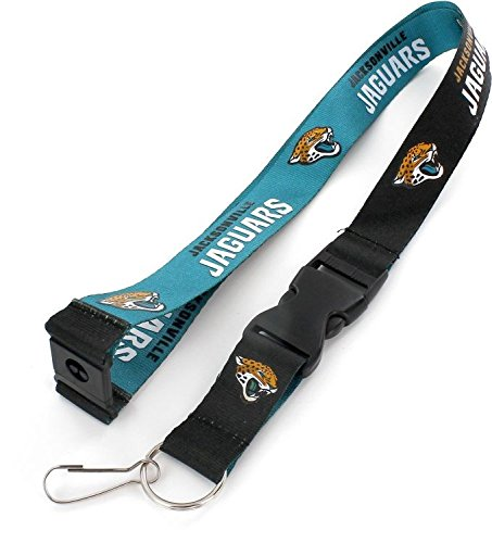 aminco NFL Jacksonville Jaguars Reversible Lanyard, ()