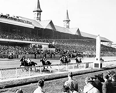1943 Kentucky Derby Count Fleet Win Old Historical Photograph - Various Sizes Reprint