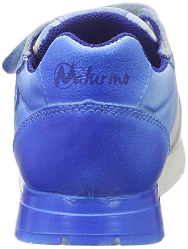 Naturino FAL001201111503, Zapatillas Niños Multicolor (Blanco/Azul)