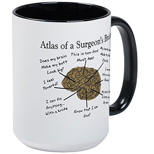 CafePress - Atlas Of... Large Mug - Coffee Mug, Large 15 oz. White Coffee (Atlas Mug)