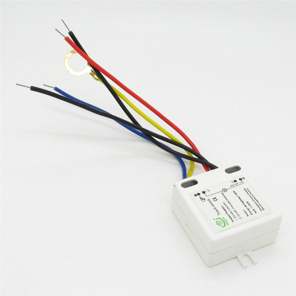Lamp Parts 3 Level 4 Wire Touch Switch For Table Incandescent 110v 220v Light Dimmer Circuit With Active Reset Mode On Off Sensor Xd 609