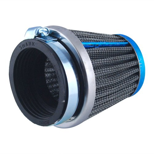 EXCELLENT SHOPPING 50mm Engine Inlet Rubber Motobike Air Filter Intake Induction Kit for Custom Cafe Racer Bobber BMW Triumph Buell Norton ()