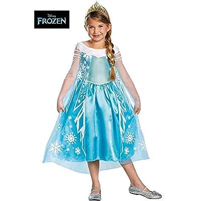 Disguise Girls Disney Frozen Elsa Deluxe Costume